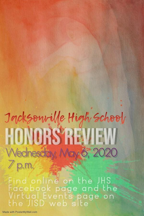 honors review virtual invite