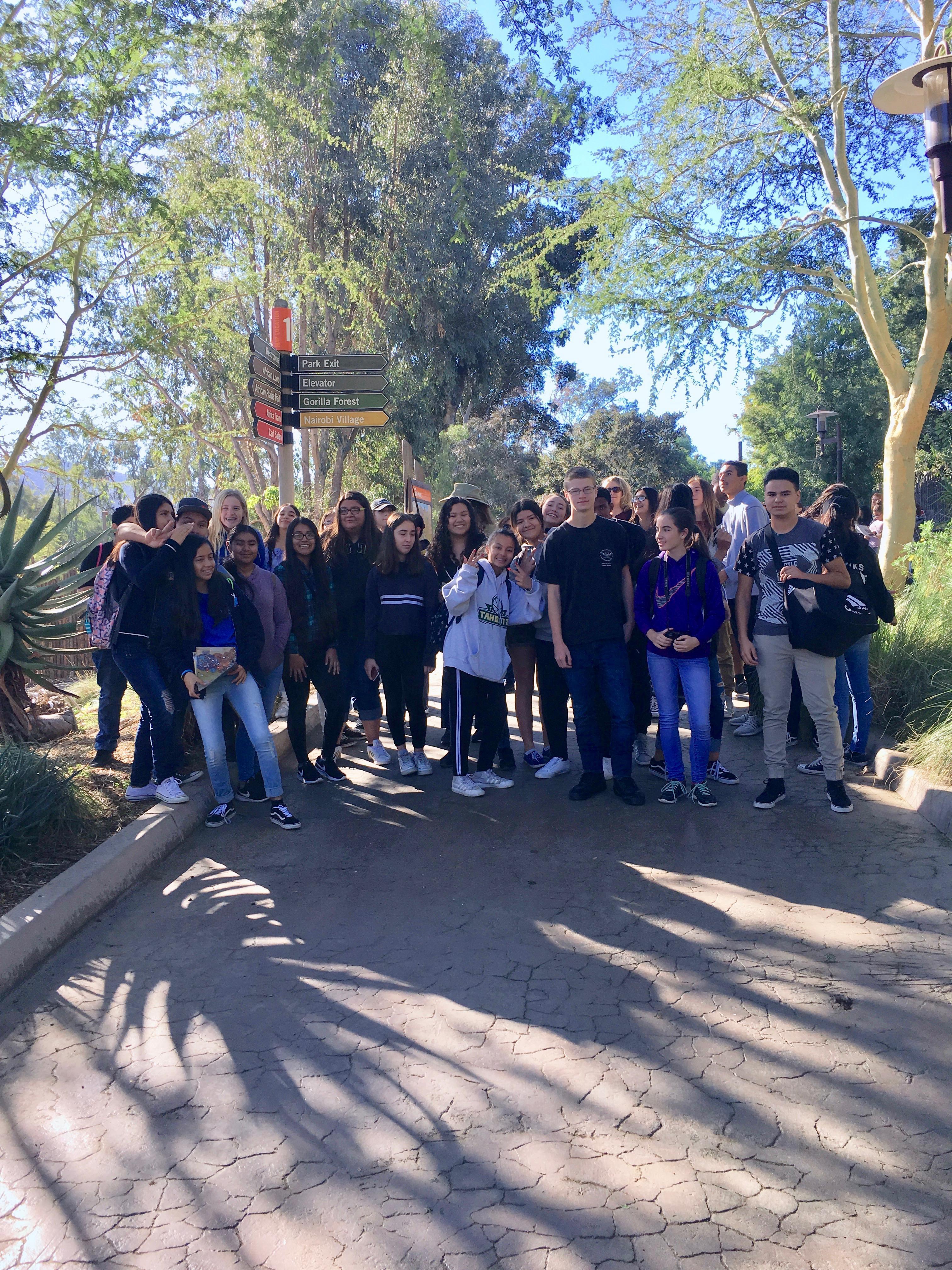 Biology Field Trip to Safari Park Conservation Center