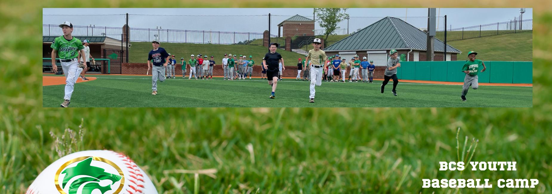 Base Ball Camp Slider Image