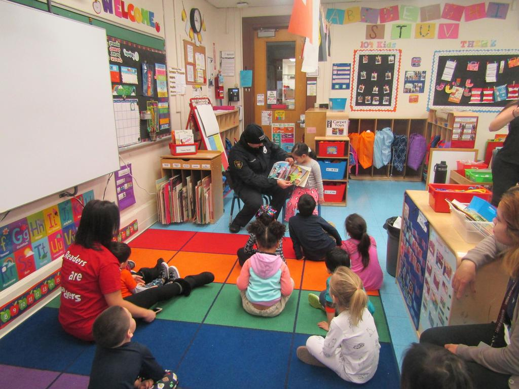 uc pd reading to the class