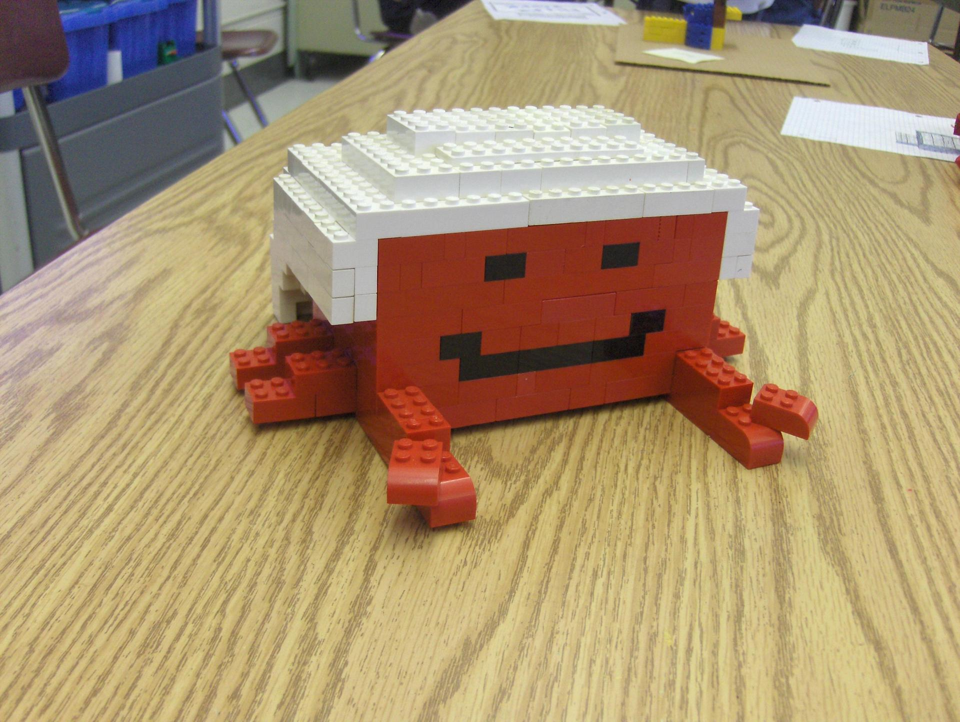 Lego crab