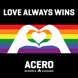 LOVE ALWAYS WINS LOGO FOR PRIDE MONTH