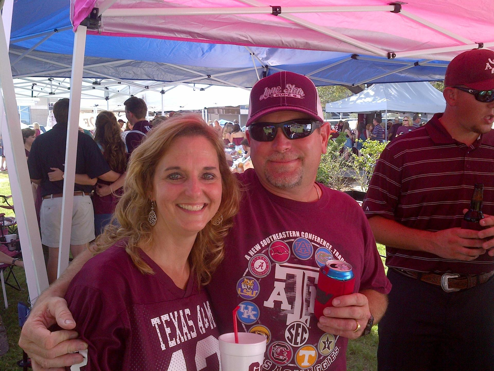 Aggie Football Tailgaiting!!