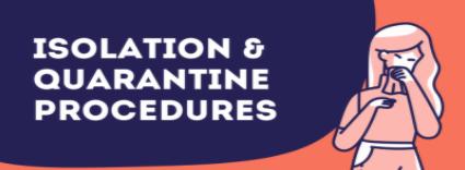 Isolation & Quarantine Procedures