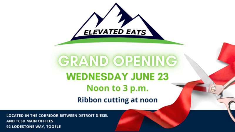 Elevated Eats Grand Opening June 23 12-3 p.m.