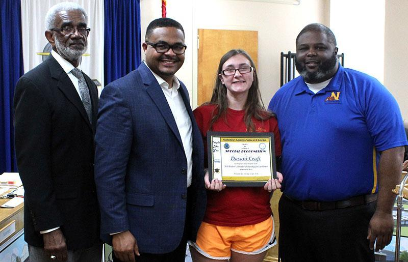Natchez-Adams School District School Board Recognizes Students and Staff for Achievements Thumbnail Image