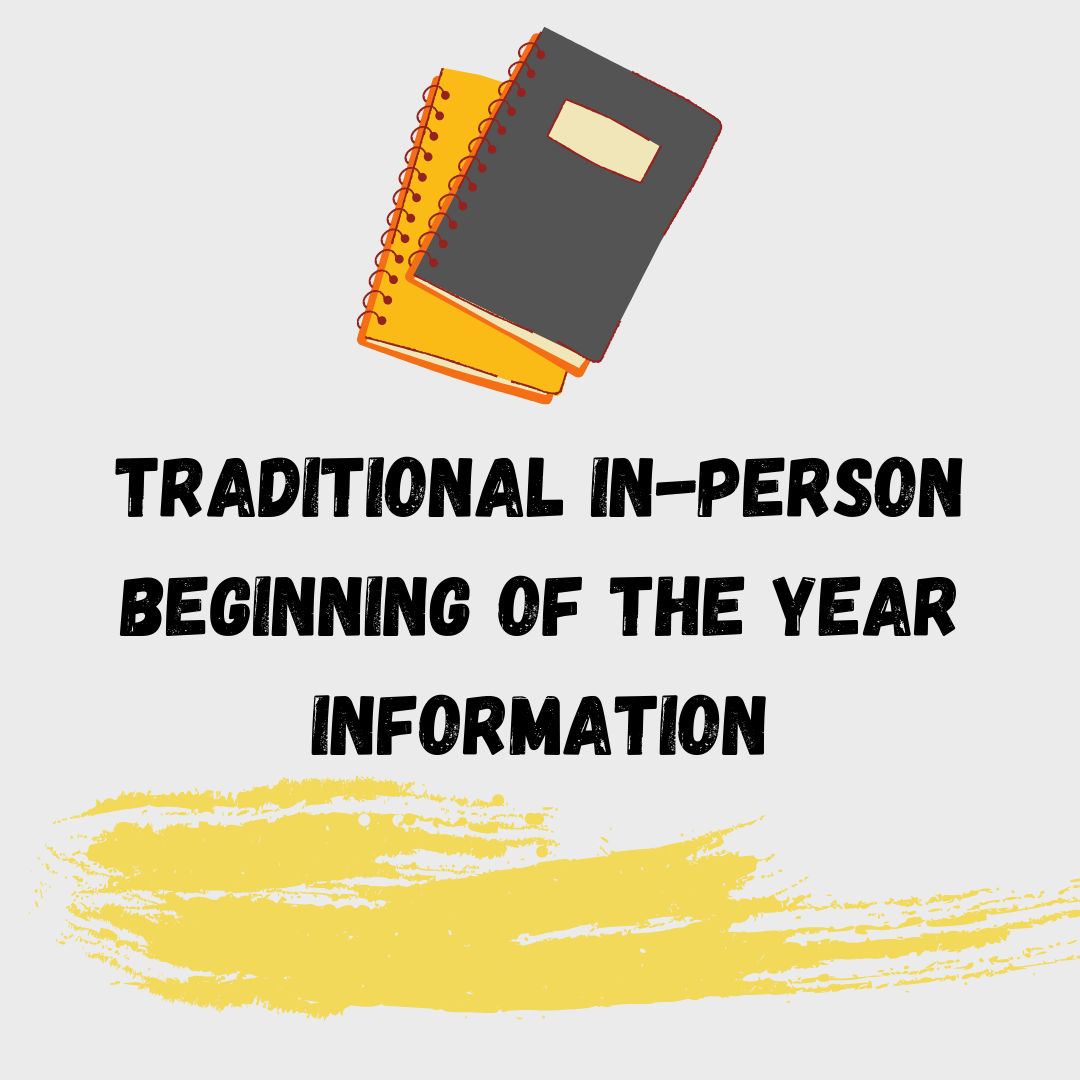 Traditional Student Information