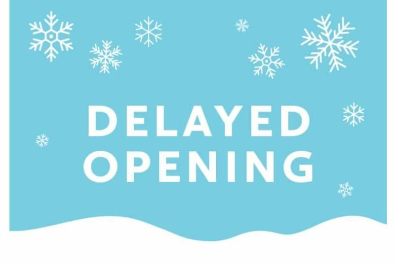 Delayed Opening - Tuesday, December 3rd Featured Photo