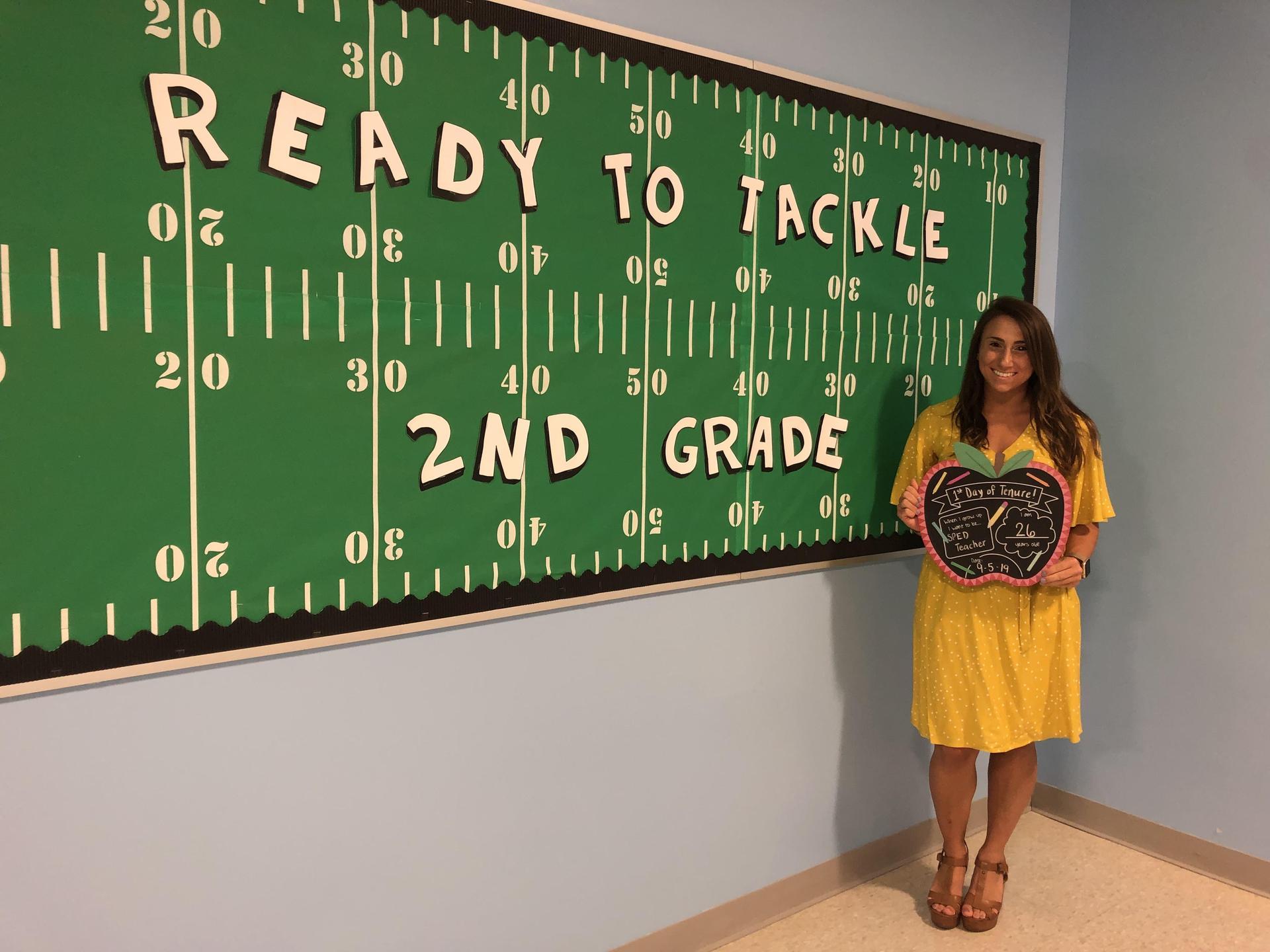 Ms. DeCongelio is Ready For Second Grade!