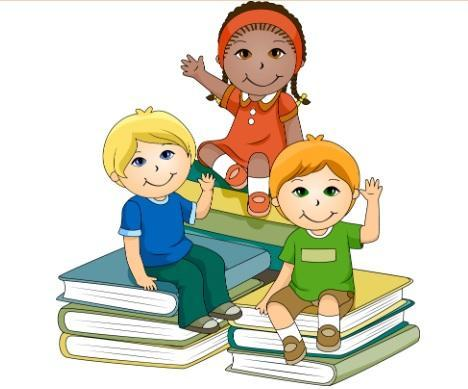 Kids and Books Image