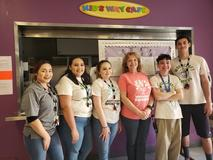 Willard Woodcraft Staff: Jezmay Tiscareno, Alyssa Martinez, Haley Noyes, Wlady Vallejo, Victor Acevedo, Marcos Vasquez