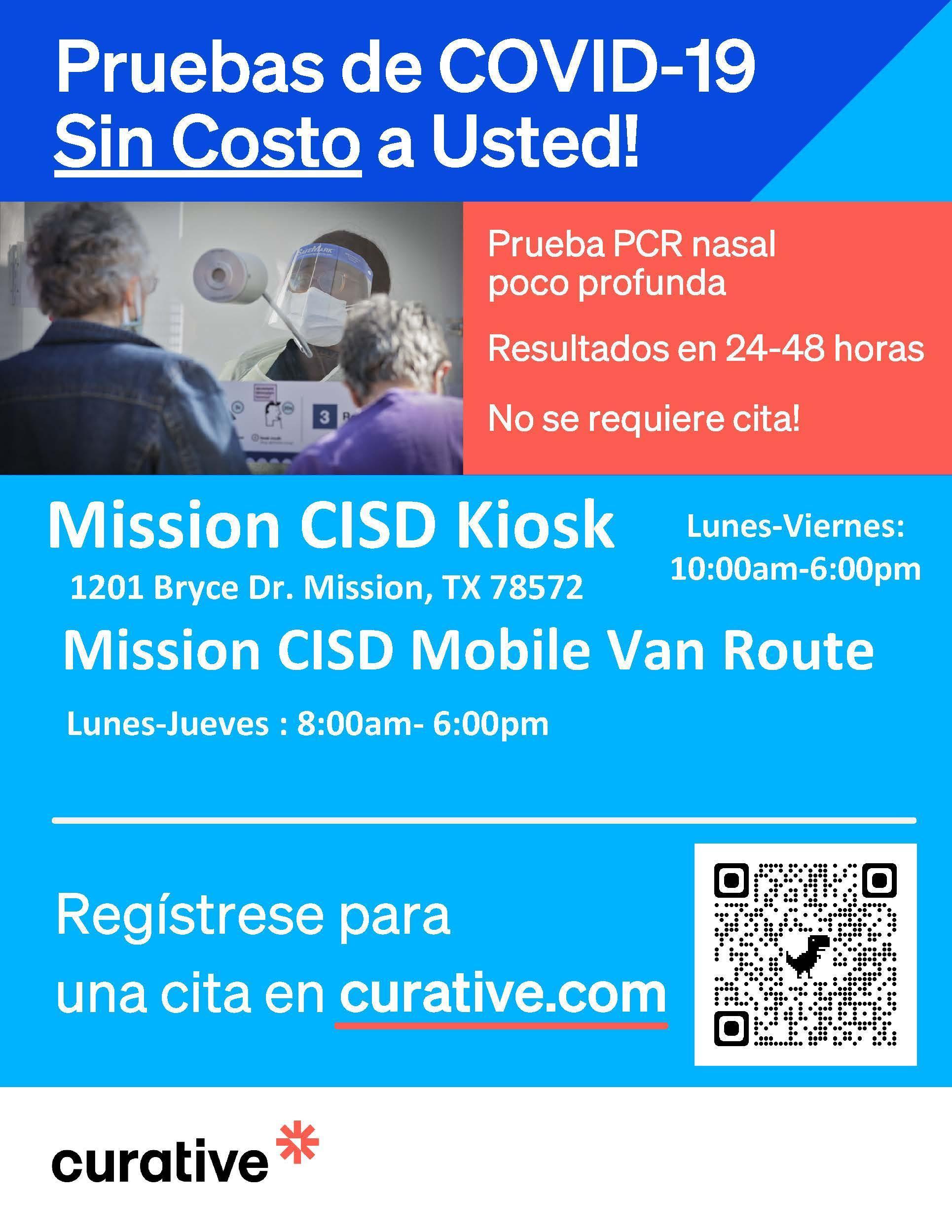 Testing flyer spanish