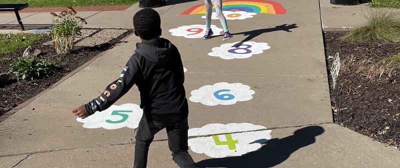 Longfellow Adds Sensory Path to Playground Featured Photo