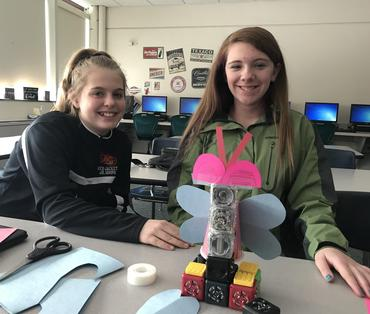Students with Cubelets
