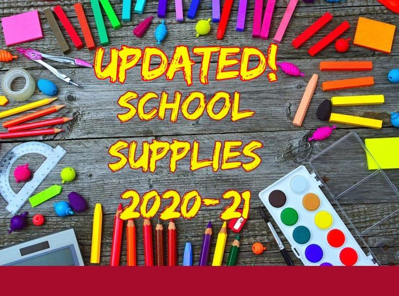 Icon for Updated Supply List 2020-21
