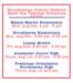 Meet the Teacher Schedule