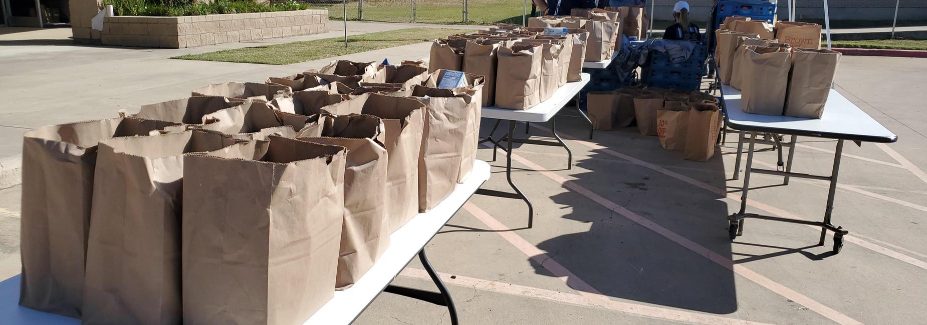 Food Distribution Winter Break