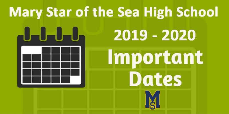 Important Dates for the 2019-2020 School Year Featured Photo
