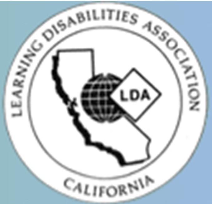 LA Learning Disabilities Association logo