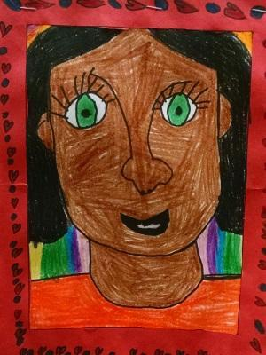 First Grade Student Portrait