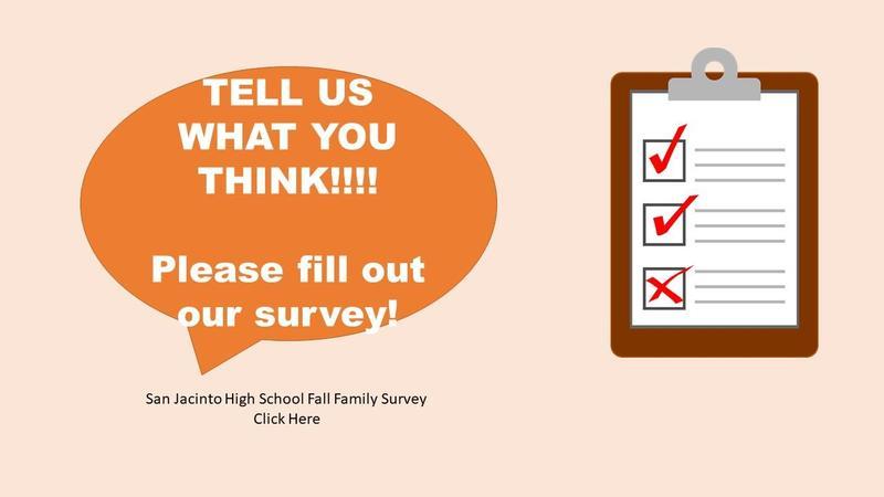 Fall Parent Survey