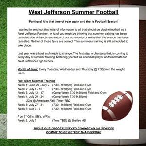 Summer Football