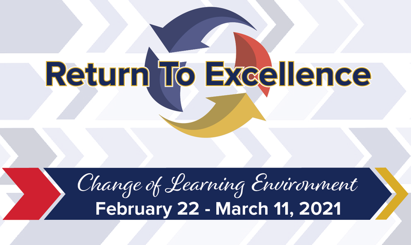 Change of Learning Environment : February 22 - March 11, 2021