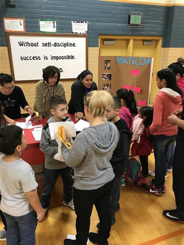 DWE celebrates literacy night