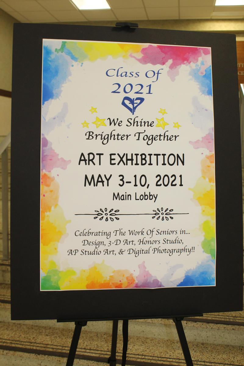 Senior Art Exhibition 2021 Thumbnail Image