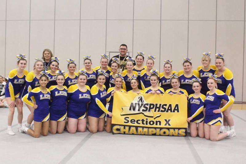 group photo of cheerleading team