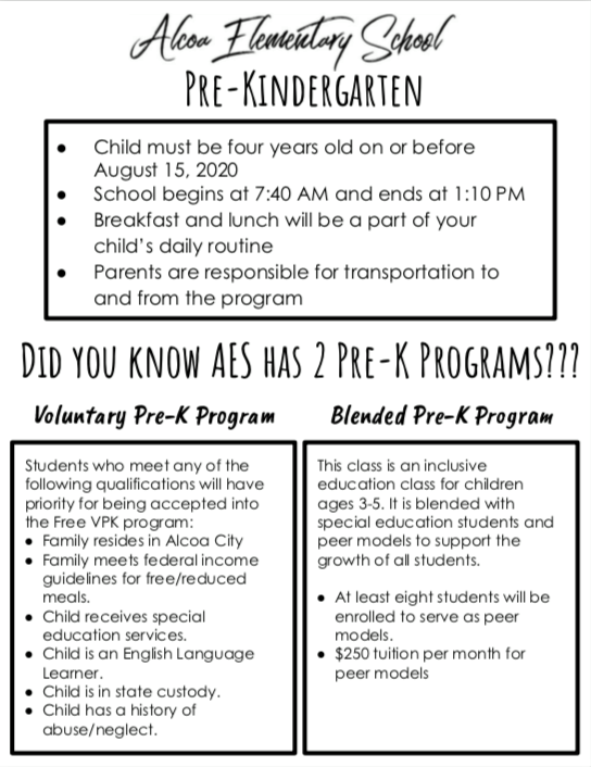 Pre-K Round Up Flyer page 2