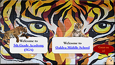 Welcome to OMS and 5GA Slide Show