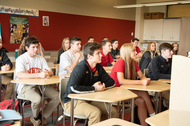 High School Placement Test at North Catholic High School