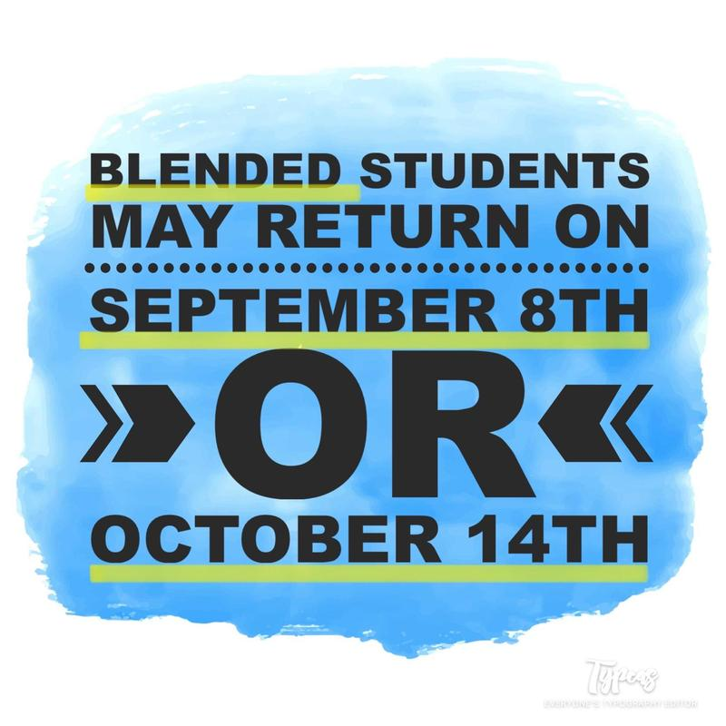 blended students