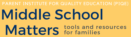 Middle School Matters: Tools and Resources for Families Featured Photo