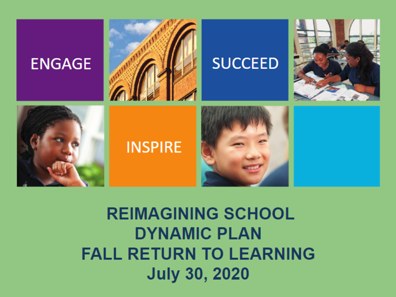 Reopening/ReImagining School Presentation - July 30, 2020 Featured Photo