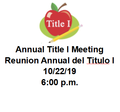 Hardeeville-Ridgeland Middle School Annual Title I Meeting/Reunion Anual del Titulo I Featured Photo