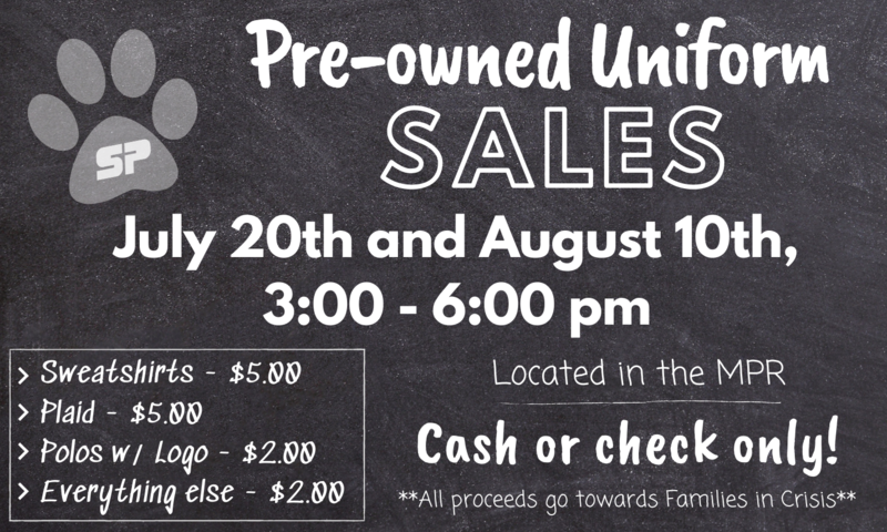 Summer Pre-Owned Uniform Sales Featured Photo