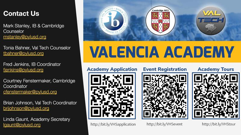 Interested in joining the Valencia Academy? Thumbnail Image