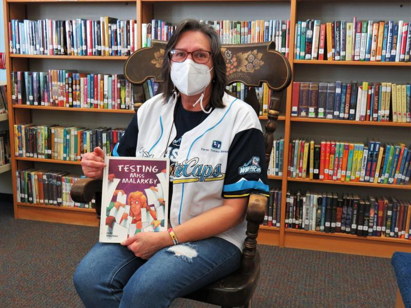 Page librarian Diane Knight loves her job.