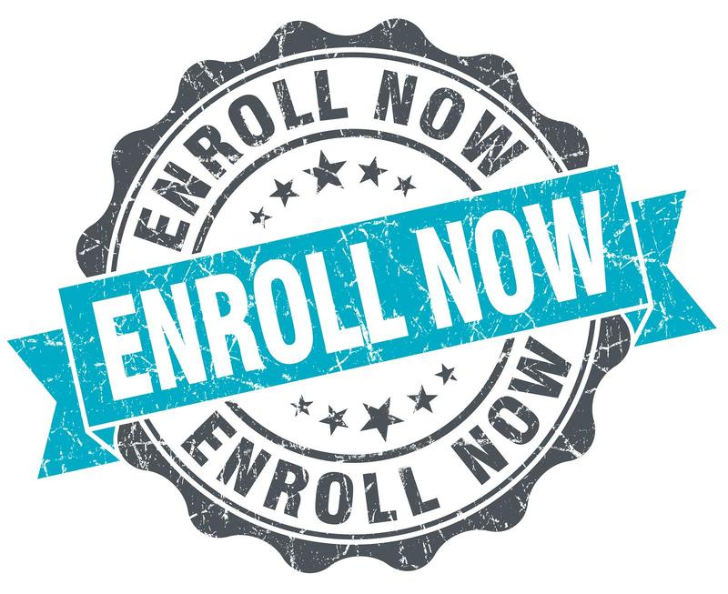 enroll now graphic
