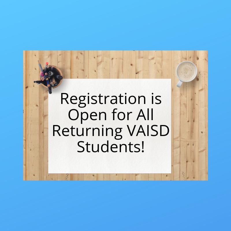 Returning Student Registration Thumbnail Image