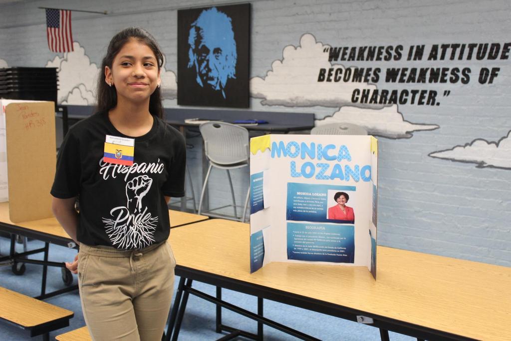 girl with her monica lozano presentation