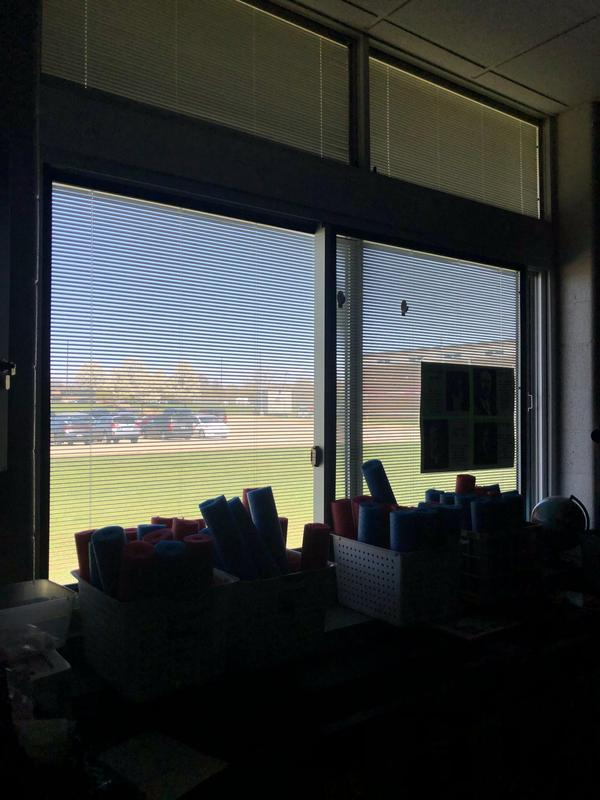 Page Elementary turned off all the lights and technology for one hour in observance of Earth Day.