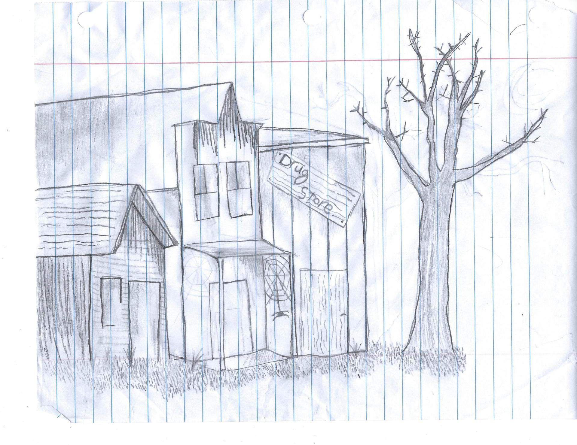 Madalyn's Ghost town