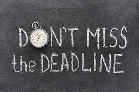 Deadline Today!
