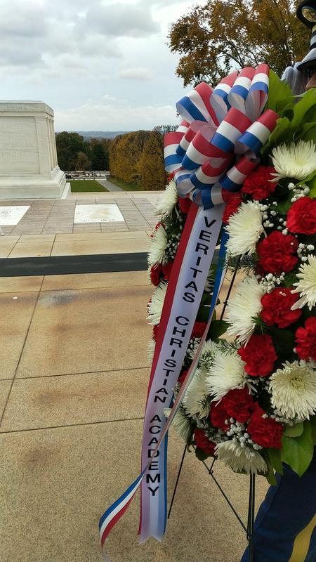 Veritas wreath