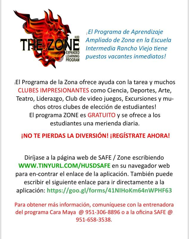 Zone Program