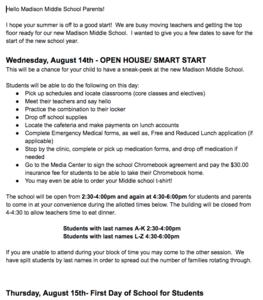 SMART START AUGUST 14