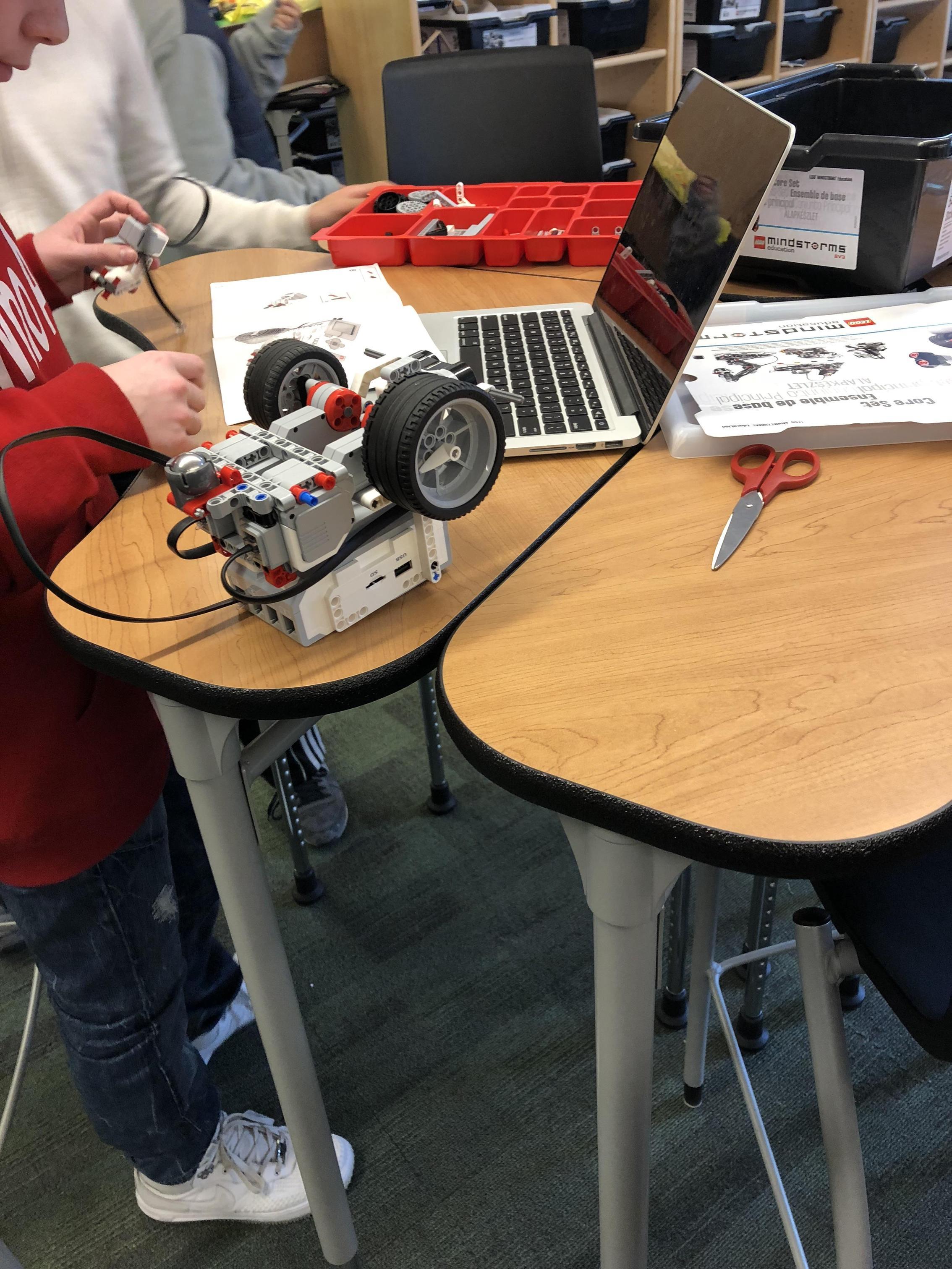Programming robotics